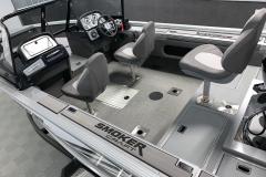 Interior Layout of a 2020 Smoker Craft 182 Pro Mag Fishing Boat1