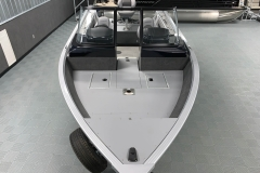 Bow Layout of a 2020 Smoker Craft 182 Pro Mag Fishing Boat