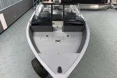 Bow Layout of a 2020 Smoker Craft 182 Pro Mag Fishing Boat