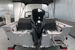 Mercury 150HP Motor of a 2020 Smoker Craft 182 Pro Mag Fishing Boat