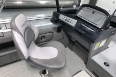 Co-Captain's Chair of a 2020 Smoker Craft 182 Pro Mag Fishing Boat