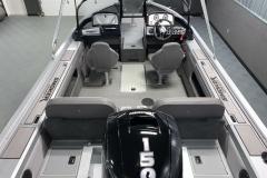 Interior Cabin Layout of a 2020 Smoker Craft 182 Pro Mag Fishing Boat