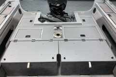 Over-Sized Casting Deck of a 2020 Smoker Craft 182 Pro Mag Fishing Boat