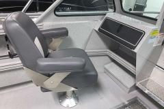 Co-Captain's Chair of a 2020 Smoker Craft Phantom 18 X2 Fishing Boat