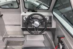 Helm Dash of a 2020 Smoker Craft Phantom 18 X2 Fishing Boat