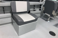 Portable Bench Seat of a 2020 Smoker Craft Phantom 18 X2 Fishing Boat 2