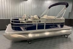 D-Rail Panel Design of a 2020 SunChaser Vista 18 Fish Pontoon Boat