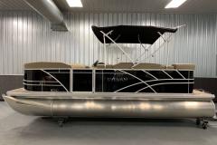 Black Exterior of a 2020 Sylvan Mirage 820 Cruise Pontoon 3