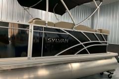 Black Exterior of a 2020 Sylvan Mirage 820 Cruise Pontoon 5