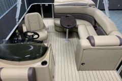 Interior Layout of a 2020 Sylvan Mirage 820 Cruise Pontoon 1