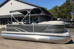 Carbon Exterior of a 2021 Sylvan Mirage 820 Cruise Pontoon 2