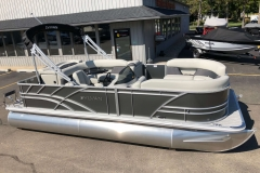 Carbon Exterior of a 2020 Sylvan Mirage 820 Cruise Pontoon 1