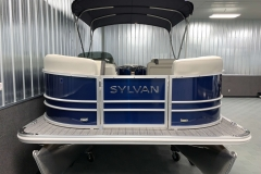 Bow Deck of a 2021 Sylvan 8520 Party Fish Pontoon Boat