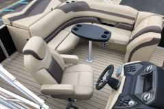Soft Touch Interior Vinyl of a 2020 Sylvan L1 Cruise Pontoon