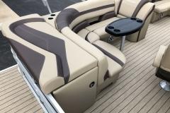 Rear Sunpad of a 2020 Sylvan L1 Cruise Pontoon