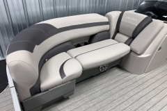 Starboard Side Bow Seating of a 2020 Sylvan L1 Cruise Pontoon