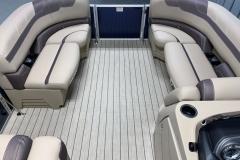 Interior Bow Layout of a 2020 Sylvan L1 Cruise Pontoon 2