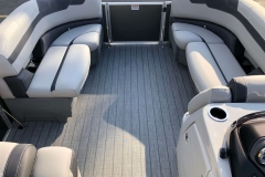 Interior Bow Layout of a 2020 Sylvan L1 Cruise Pontoon