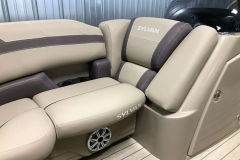 Starboard Side Bow Seating of a 2020 Sylvan L1 LZ Pontoon