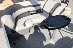 Port Side Aft Seating of a 2020 Sylvan L1 LZ Pontoon