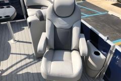 High Back Co-Captain's Chair of a 2020 Sylvan L1 LZ Pontoon