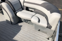 Port Side Bow Seating of a 2020 Sylvan L1 LZ Pontoon