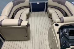 Interior Bow Layout of a 2020 Sylvan L1 LZ Pontoon