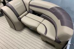Port Side Bow Seating of a 2020 Sylvan L1 LZ Pontoon