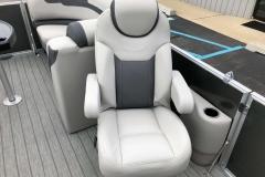 Hi-Back Co-Captain's Chair of a 2020 Sylvan L1 LZ Pontoon