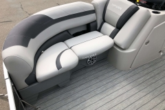 Starboard Bow Seating of a 2020 Sylvan L1 LZ Pontoon