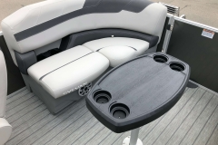Starboard Side Aft Seating of a 2020 Sylvan L1 LZ Pontoon