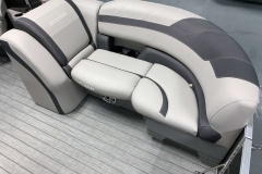 Port Side Bow Seating of a 2020 Sylvan L1 LZ Tritoon