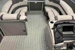 Interior Bow Layout of a 2020 Sylvan L3 CLZ Pontoon