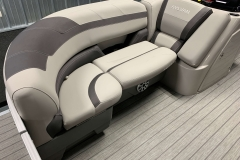 Starboard Side Bow Seating of a 2020 Sylvan L3 CLZ Pontoon