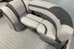 Port Side Bow Seating of a 2020 Sylvan L3 CLZ Pontoon