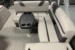 Swing Back Aft Seating of a 2020 Sylvan L3 CLZ Pontoon  2