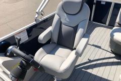 High Back Captain's Chair of a 2020 Sylvan L3 Cruise Pontoon