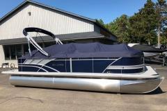 Blue Playpen Cover of a 2020 Sylvan L3 Cruise Pontoon