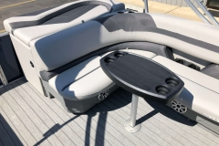 Wraparound Rear Sunpad of a 2020 Sylvan L3 Cruise Pontoon