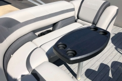 Wraparound Rear Seating of a 2020 Sylvan L3 Cruise Pontoon