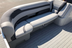 Starboard Side Bow Seating of a 2020 Sylvan L3 Cruise Pontoon