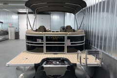 Black and Tan Exterior of a 2020 Sylvan L3 Cruise Pontoon 5