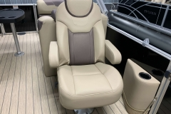High Back Co-Captain's Chair of a 2020 Sylvan L3 Cruise Pontoon