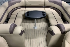 Portable Gate Seat of a 2020 Sylvan L3 Cruise Pontoon