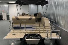 Extended Rear Swim Deck of a 2020 Sylvan L3 DLZ Pontoon