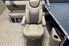 High Back Co-Captain's Chair of a 2020 Sylvan L3 DLZ Pontoon
