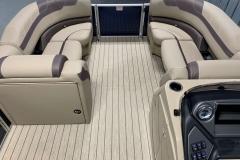 Interior Bow Layout of a 2020 Sylvan L3 DLZ Pontoon