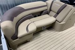 Starboard Side Bow Seating of a 2020 Sylvan L3 DLZ Pontoon