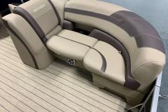 Port Side Bow Seating of a 2020 Sylvan L3 DLZ Pontoon