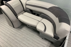 Port Side Bow Seating of a 2020 Sylvan L3 LZ Pontoon